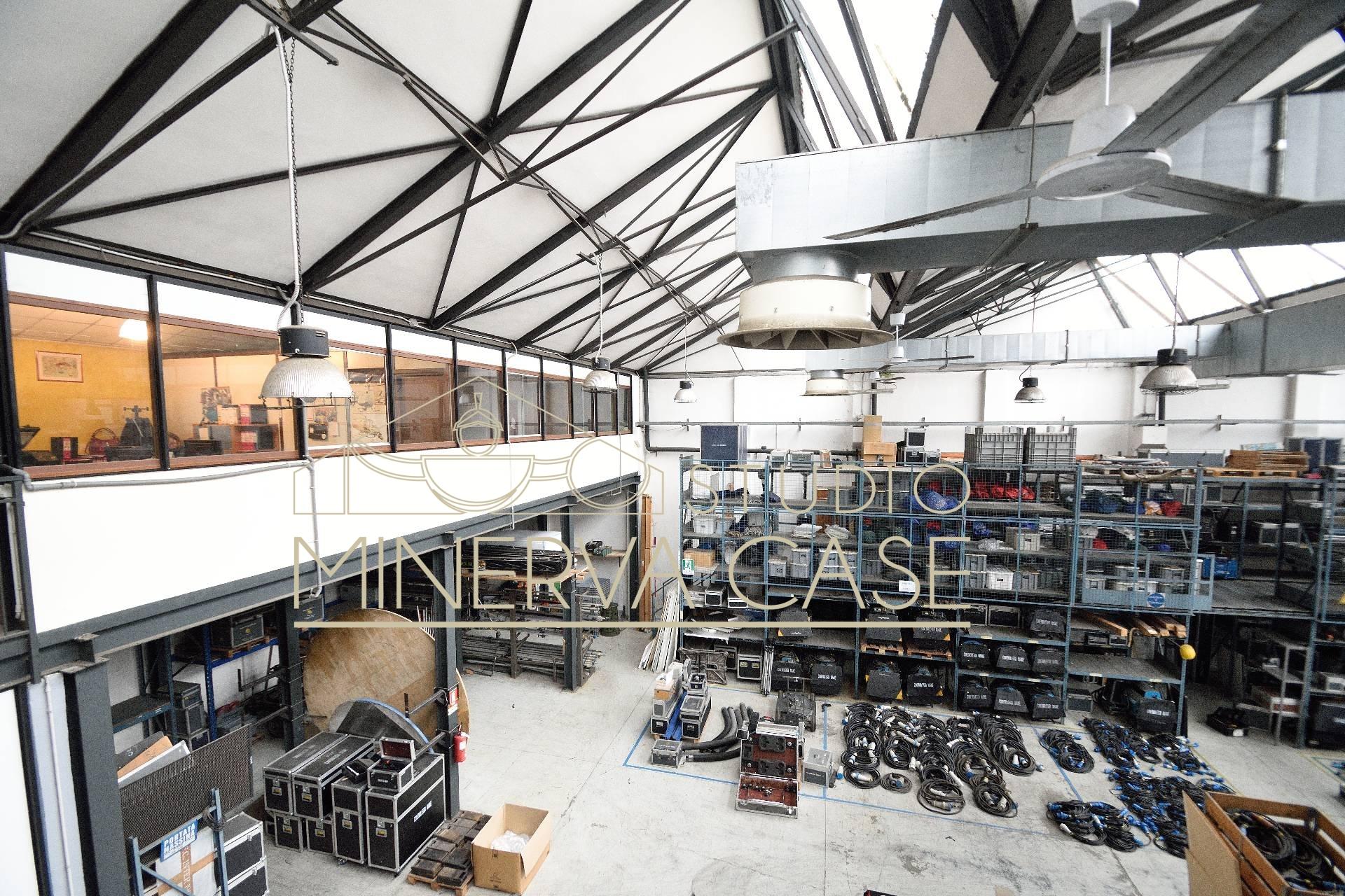 Capannone in vendita a sesto san giovanni studio minerva for Capannone di 300 metri quadrati